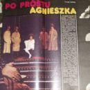 Agnieszka Fatyga - Ekran Magazine Pictorial [Poland] (30 March 1986) - 454 x 327
