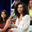 Melonie Diaz – 'Charmed' Panel at 2018 TCA Summer Press Tour in Los Angeles - 454 x 327