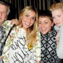 Jason Starkey and Flora Evans with Jaime Winstone