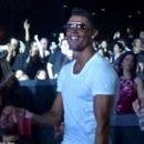 Cristiano Ronaldo shows off his exuberant dance moves in Las Vegas nightclub to celebrate J-Lo's birthday show