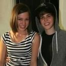 Kristen Rodeheaver and Justin Bieber
