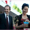 Ralph Fiennes and Amanda Harlech - 454 x 306