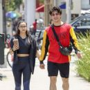 Camila Mendes and Charles Melton – Out in LA 06/05/2019 - 454 x 625