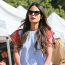 'Furious 7' actress Jordana Brewster went to the farmer's market with her family in Los Angeles, California on August 21, 2016 - 454 x 588