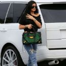 Kylie Jenner Arriving At A Bowling Alley In Calabasas