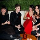 Selena Gomez and Justin Bieber at the Vanity Fair Oscar party 2/27/2011