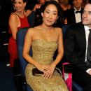 Sandra Oh - The 61 Primetime Emmy Awards Held - The Nokia Theatre In Los Angeles, California 2009-09-20 - 454 x 719