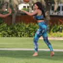 Jess Wright – Working Out in Dubai - 454 x 303