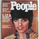 Liza Minnelli - People Weekly Magazine Cover [United States] (12 January 1976)
