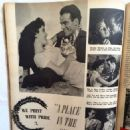 A Place in the Sun - Silver Screen Magazine Pictorial [United States] (July 1951)