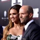 Jessica Alba & Jason Statham : Mechanic: Resurrection  Premiere (August 22, 2016) - 454 x 320