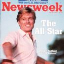 Robert Redford - Newsweek Magazine Cover [United States] (28 May 1984)