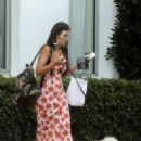 Vanessa Claudio – Out with her Pomeranian pup in Miami Beach