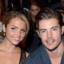 Actor Josh Henderson poses backstage at the Nautica Men's Spring 2014 fashion show during Mercedes-Benz Fashion Week at The Stage at Lincoln Center on September 6, 2013 in New York City