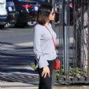 Jenna Dewan Tatum in Black Jeans out in Studio City