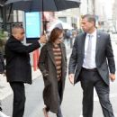 Evan Rachel Wood – Leaving her hotel in New York City - 454 x 568