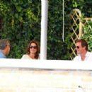 George Clooney Has Breakfast Before His Wedding