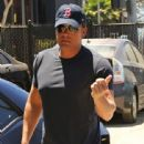 Ben Affleck- July 22, 2016-Attends a Business Meeting