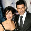 Frank Grillo and Wendy Moniz