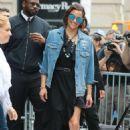 Paula Patton – Leaves AOL Build Series in New York City - 454 x 680