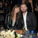 Jessica Biel and Justin Timberlake attends The 22nd Annual Critics' Choice Awards at Barker Hangar on December 11, 2016 in Santa Monica, California - 454 x 323
