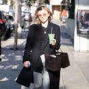 Chloe Moretz – Leaves Oliver Peoples in LA