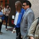 Actress Cara Delevingne visits the
