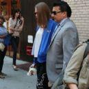 Actress Cara Delevingne visits the
