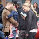 Jennifer Morrison on the set of 'Once Upon A Time' in Vancouver - 454 x 544