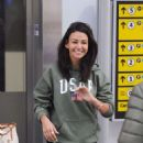 Michelle Keegan – Arriving at Heathrow Airport in London - 454 x 634