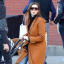Anne Hathaway with husband Adam – Out in Chelsea in New York City - 454 x 726