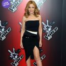 Kylie Minogue wears Alexandre Vauthier Couture - 'The Voice UK' Launch