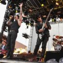 M Shadows & Synyster Gates performs during the 2012 Orion Music on June 24, 2012 in Atlantic City, NJ
