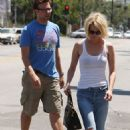 January Jones And Jason Sudeikis: Shopping Sweethearts- Local Target In Los Angeles