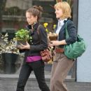 Kristin Kreuk and Allison Mack – Shopping in Vancouver - 454 x 653