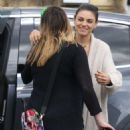 Mila Kunis – Goes to a nail salon with a friend in North Hollywood - 454 x 681