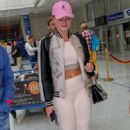 Iskra Lawrence – Arriving at Nice Airport