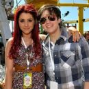 Ariana Grande and Nathan Kress