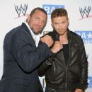 "Kellan Lutz hosted the ""be A STAR"" Summer Event with the WWE and Creative Coalition at the Andaz Hotel last night, August 11, in West Hollywood"