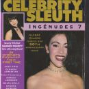 Shannen Doherty - Celebrity Sleuth Magazine Cover [United States] (9 July 1994)