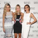 Petra Nemcova and Katrina Bowden Badgley Mischka 2014 Fashion Show In New York