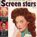 Susan Hayward - Screen Stars Magazine Cover [United States] (October 1950)