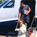 Jennifer Lopez and Alex Rodrigez – landing in LA