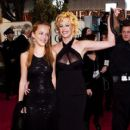 Dakota Johnson and Melanie Griffith At The 61st Annual Golden Globe Awards (2004)