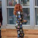 "Salma Hayek – Filming ""Limited Partners' in Atlanta"