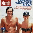 Alain Delon - Paris Match Magazine Cover [France] (March 1985)