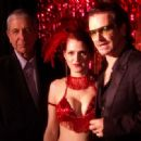 Bono, Burlesque Girl and Leonard Cohen in LEONARD COHEN I'M YOUR MAN.