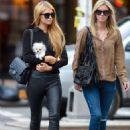 Paris Nicky Hilton Hanging Out In Nyc