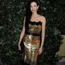 L'Wren Scott and Georgia May Jagger attends an evening celebrating with The Global Fund featuring the first green carpet challenge at Apsley House on September 16, 2013 in London, England - 454 x 737