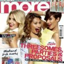 Francesca Sandford, Mollie King, Una Healy - More! Magazine Cover [United Kingdom] (26 March 2013)